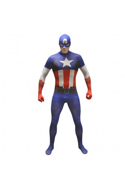 Kostým Captain Amerika- morphsuite licence Marvel