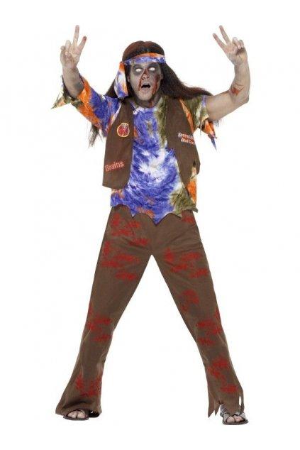 Kostým Zombie Hippie