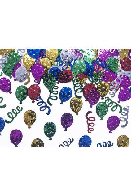 Metalické párty konfety
