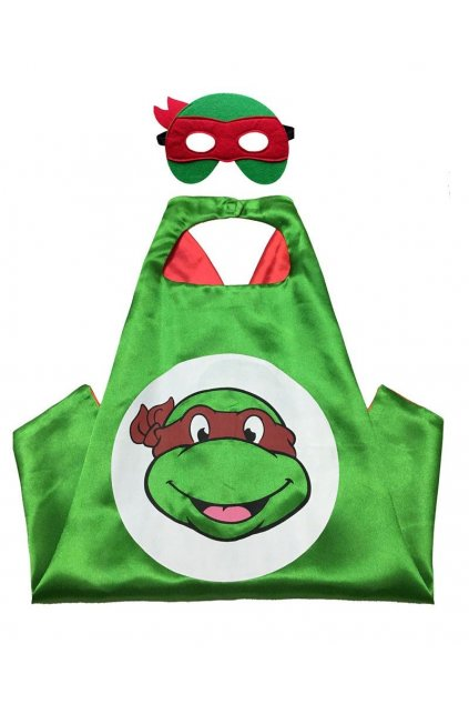 Dětský plášť želva ninja Rafaelo