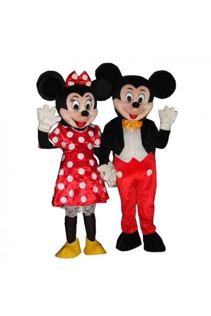 Kostým Mikimaus - Mickey mouse maskot
