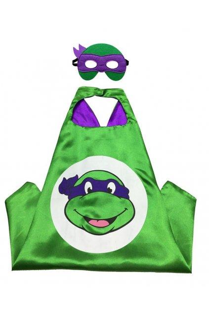 Dětský kostým želva ninja Donatelo