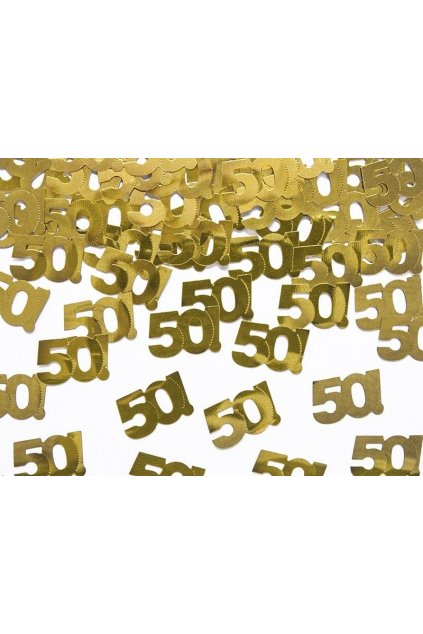konfety 50. narozeniny