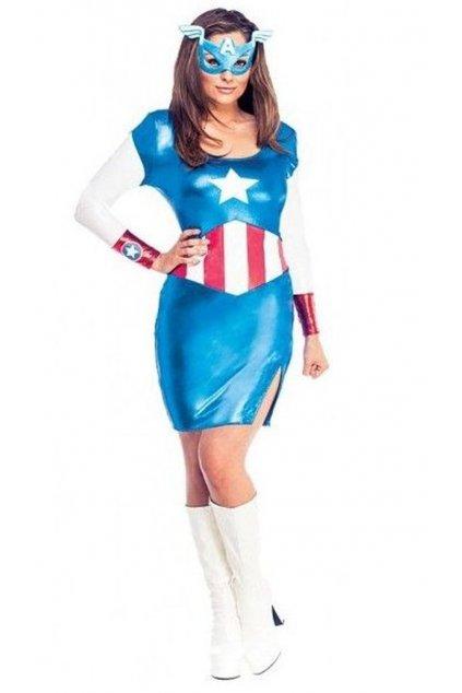 Kapitánka Amerika - originální licencovaný kostým