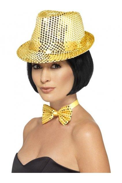 Zlatý klobouk - alá Michael Jackson