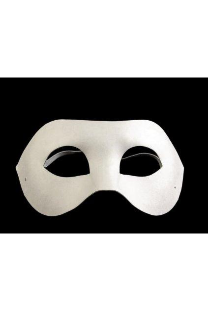 Levná papírová maska k domalování