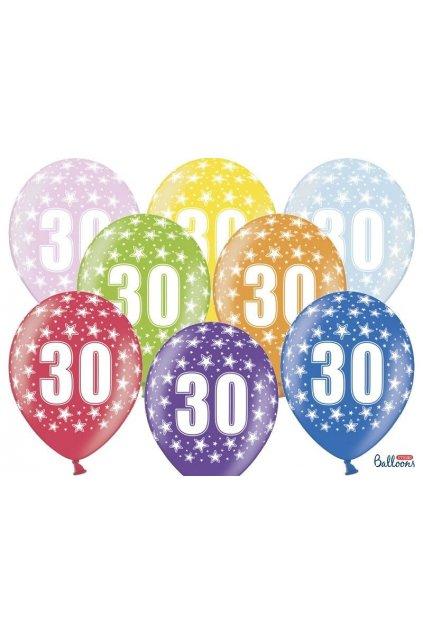 Narozeninový balónek číslo 30