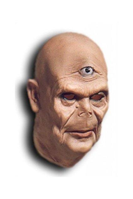 Latexová maska kyklop