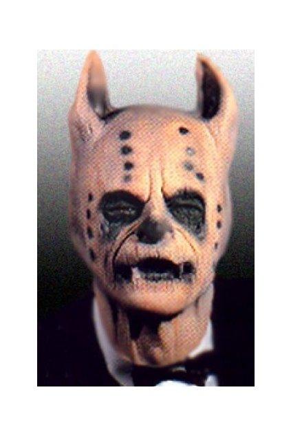 Latexová maska s mimikou Hejkal