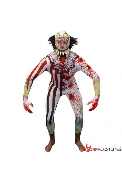 Kostým klauna Morphsuit- licence