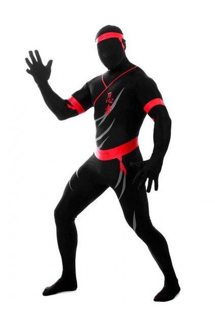 Kostým ninja - morphsuite licence