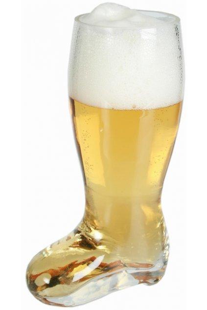 Pivní půllitr kopačka - výprodej