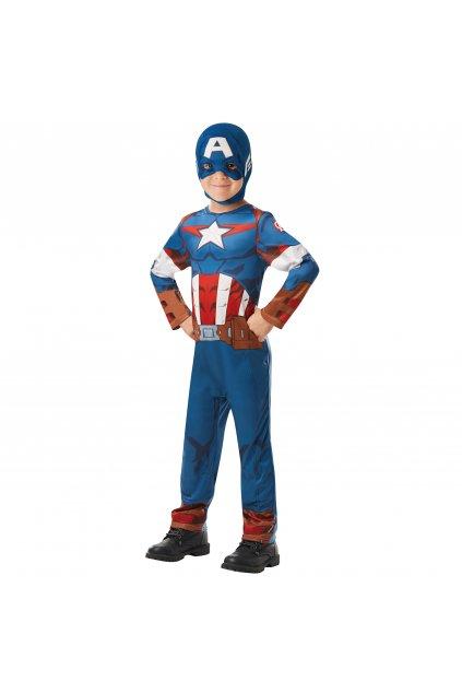 Dětský Kapitán Amerika - licenční