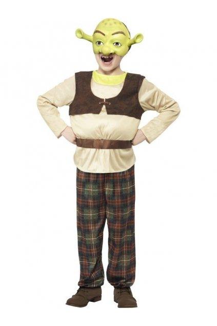 Dětský karnevalový kostým Shrek