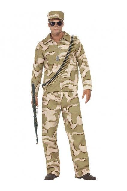 Kostým maskovaného vojáka