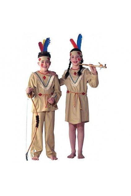 Levný dětský kostým Indiánky
