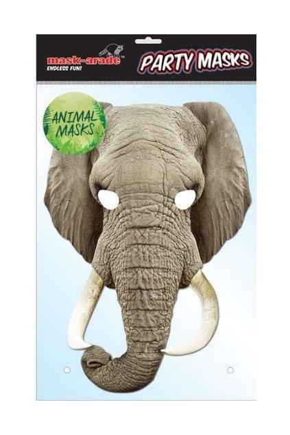 Párty maska slon