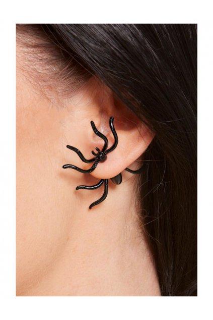 Pavouk v uchu - náušnice
