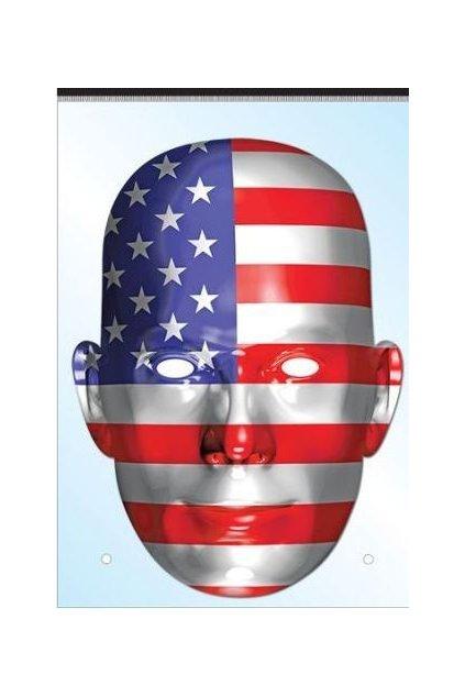 Maska USA - vlajka