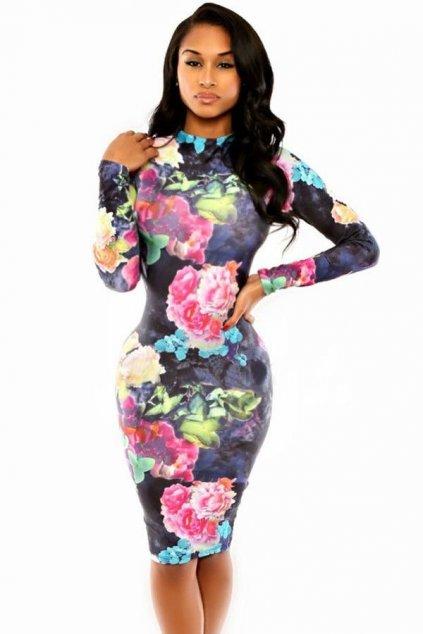 Květované šaty - výprodej
