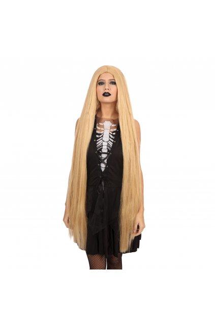Paruka blond - dlouhá