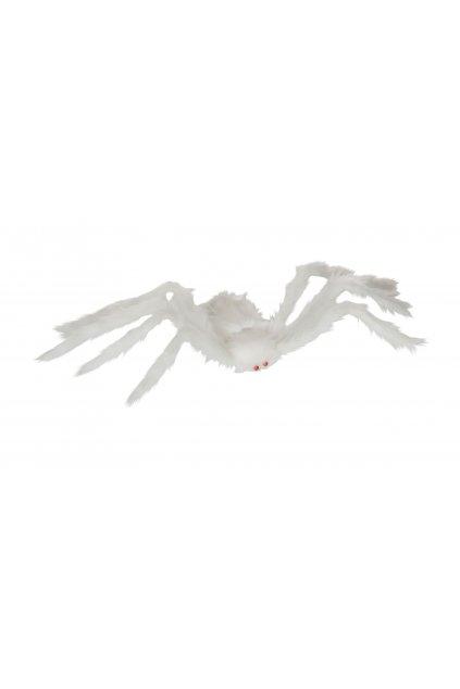 Velký pavouk bílý - 84cm