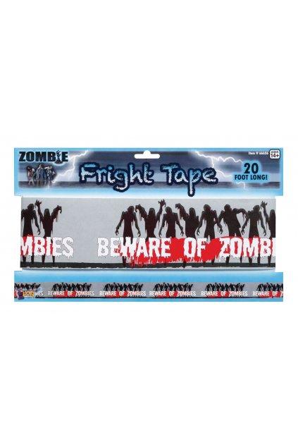 Páska Halloween - pozor zombie