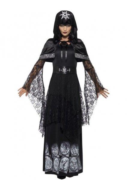 Kostým královny černé magie