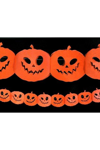 Girlanda Halloween - dýně