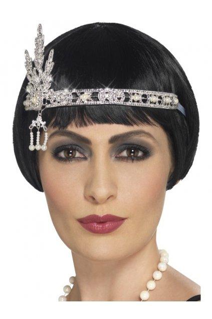 Luxusní čelenka 20. léta - šperk