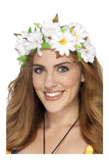 Květinová čelenka - Daisy