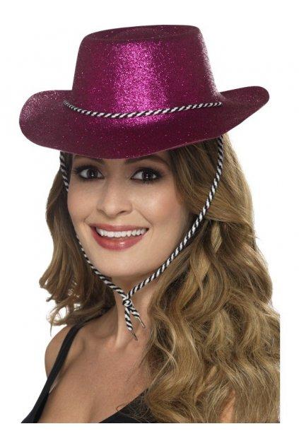 Párty klobouk - růžový