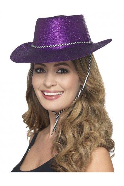 Párty klobouk - fialový