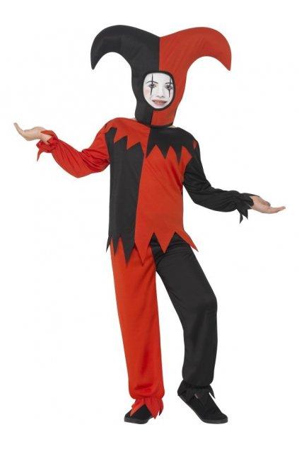 Dětský kostým Halloweenského šaška