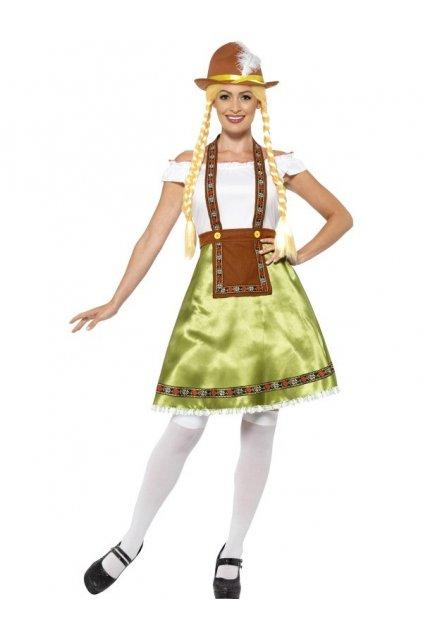 Kostým Bavorky - Oktoberfest L-XL