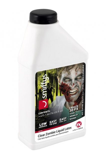 Tekutý latex 473ml s nízkým obsahem amoniaku