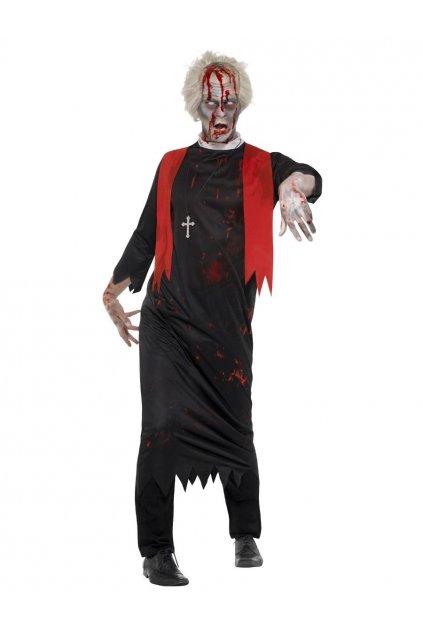 Kostým zombie kněz