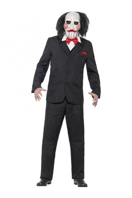Halloweenský kostým Jigsaw