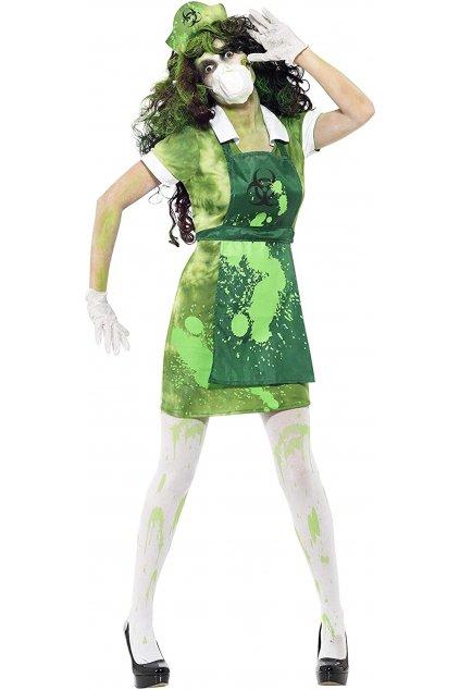 Kostým Toxická zombie
