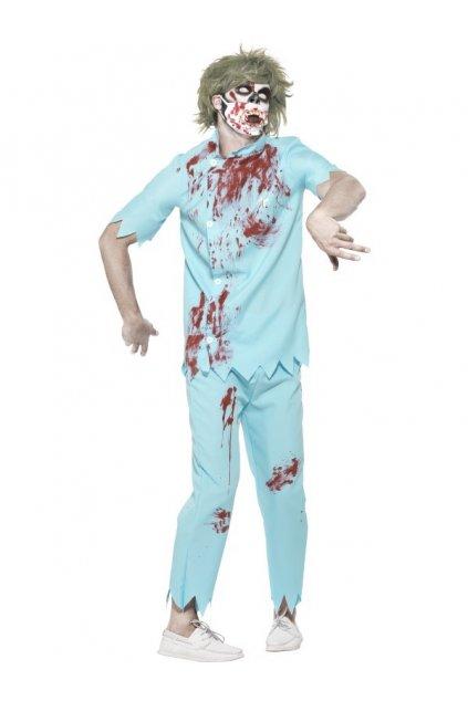 Kostým zombie doktor - zubař