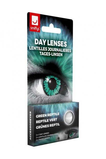 Zelené kontaktní čočky - Reptil
