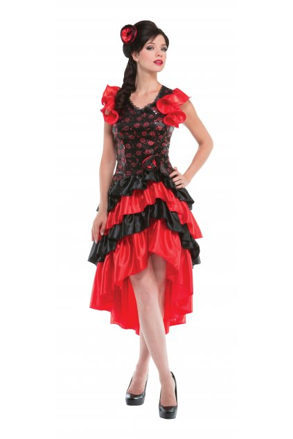 Šaty Španělka kostým