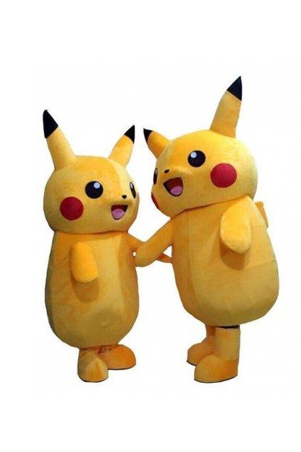 Kostým Pikachu - Pokemon maskot