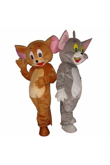 Kostým Jerry - maskot Tom a Jerry