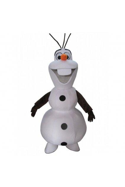 Kostým Olaf z Frozen - maskot
