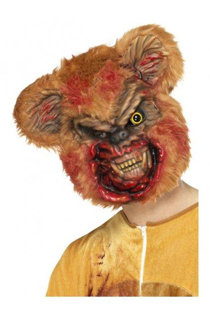 Maska zombie medvěd