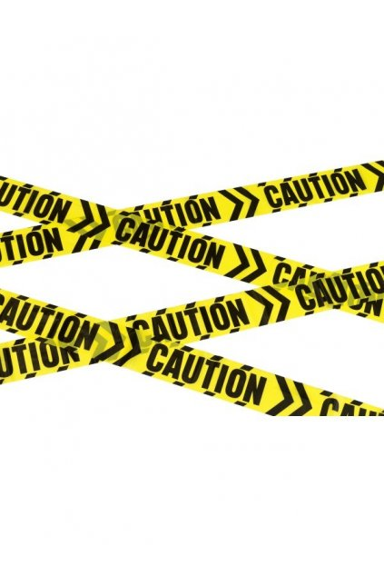 Páska Caution - Várování