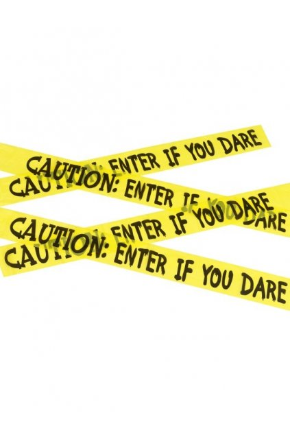 Páska Caution - enter if you dare tape