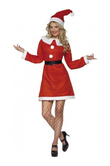Miss Santa - dámský vánoční kostým