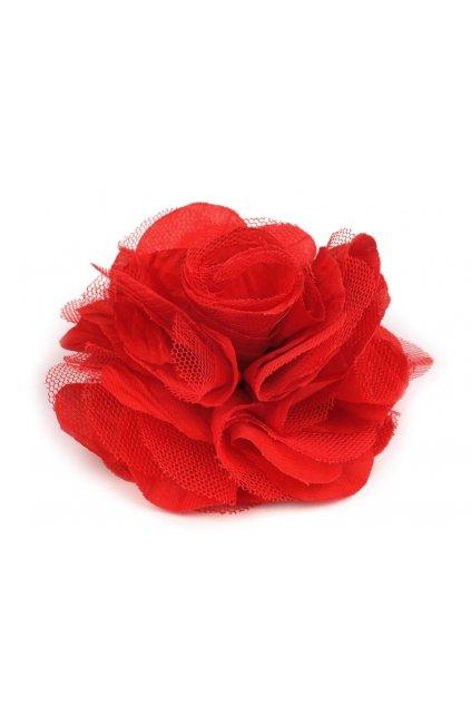 Růže do klopy saka - červená